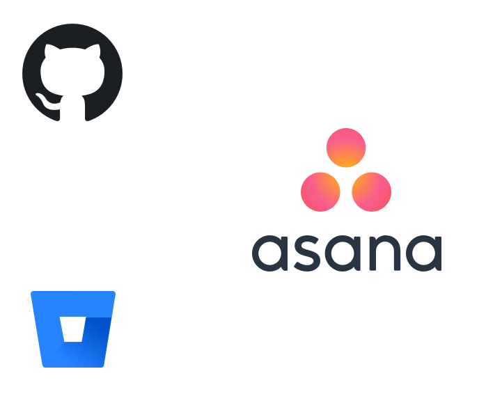 Connect Asana with your git client
